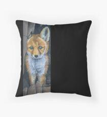Little Foxy Throw Pillow