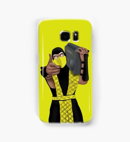 GET OVER HERE AND LISTEN TO THESE DOPE BEATS Samsung Galaxy Case/Skin