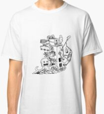 Sketch 74 - Doodle Abstract Classic T-Shirt