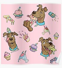 Scooby Foodie Poster