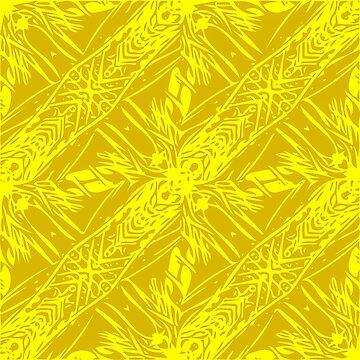 Hawaii Plant Series - Yellow by HawaiiArthst
