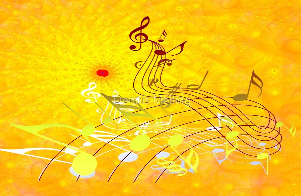 The Art of Music design by Dennis Melling