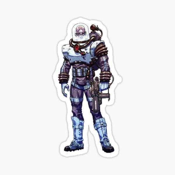 Mr. Freeze - Arkham Asylum Character Bio Sticker