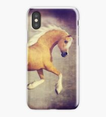 The Prancing Palomino Horse iPhone Case