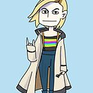 13th Doctor by ajcrwl