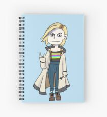13th Doctor Spiral Notebook