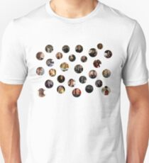 Teen Wolf Cast Dots T-Shirt