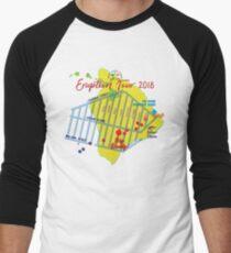 AHT - Concert Eruption Tour 2018 Design Men's Baseball ¾ T-Shirt