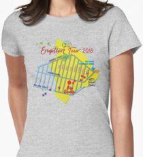 AHT - Concert Eruption Tour 2018 Design Women's Fitted T-Shirt