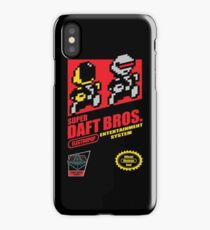 Super Daft Bros. iPhone Case