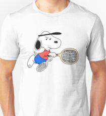 Arcade Classic - Snoopy Tennis T-Shirt