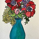 Birthday Flowers for Laura by Susan Scott