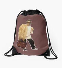 kourtney kardashain meme Drawstring Bag