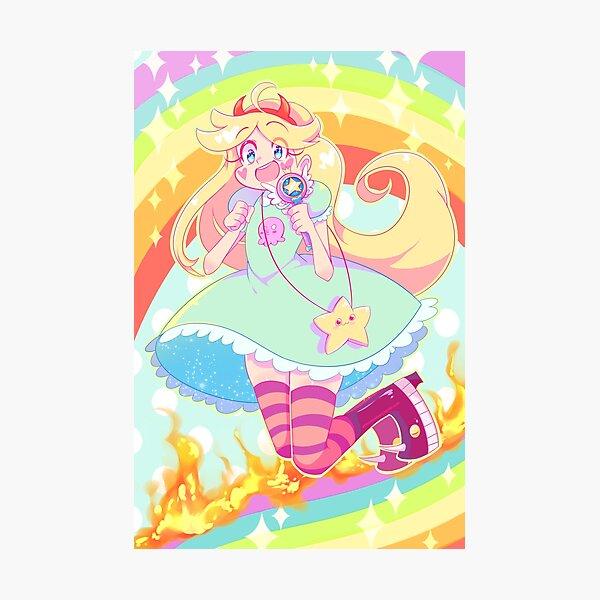 Magical Girl Photographic Print