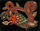 The Feathered Serpent (Quetzalcoatl) by Lynnette Shelley