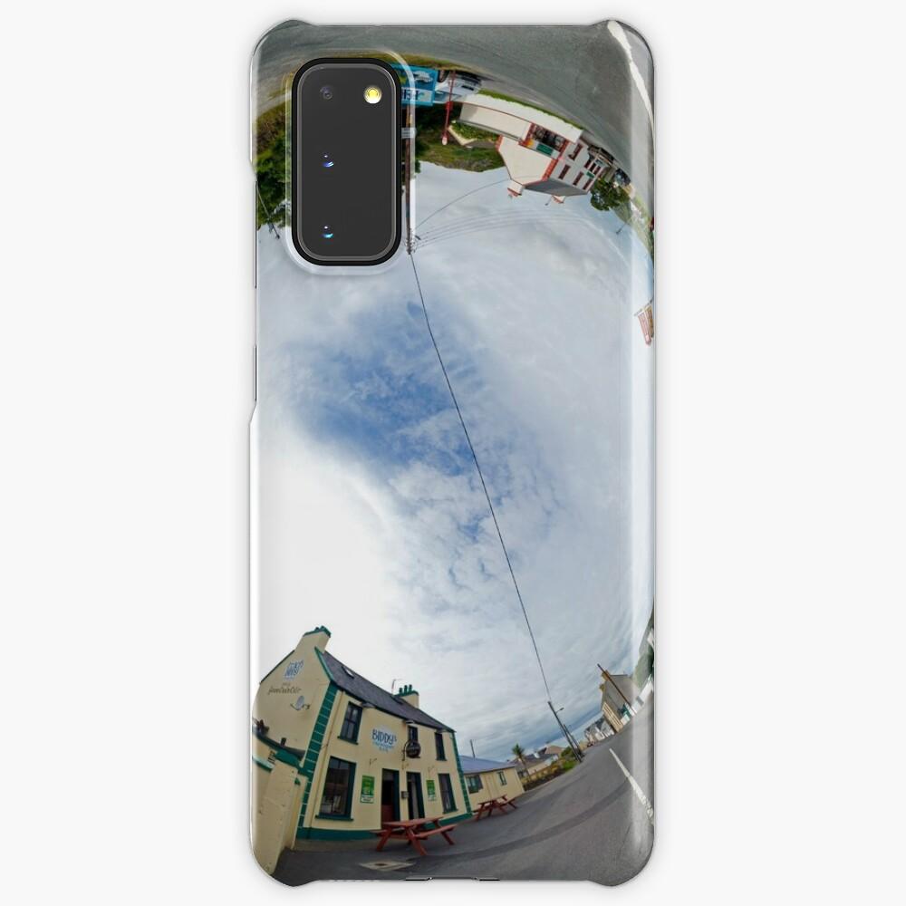 Glencolmcille Biddy S Crossroads Pub Sky In Case Skin For Samsung Galaxy By Veryireland Redbubble
