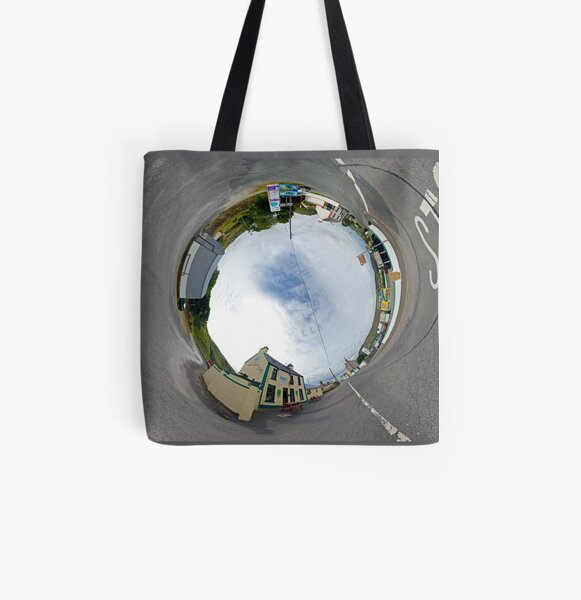 Glencolmcille - Biddy's Crossroads Pub(Sky-in) All Over Print Tote Bag