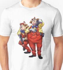 Tweedledum and Tweedledee - Arkham Asylum Character Bio Unisex T-Shirt