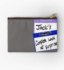 "Fight Club: ""I AM JACK'S COMPLETE LACK OF SURPRISE"" Studio Pouch"