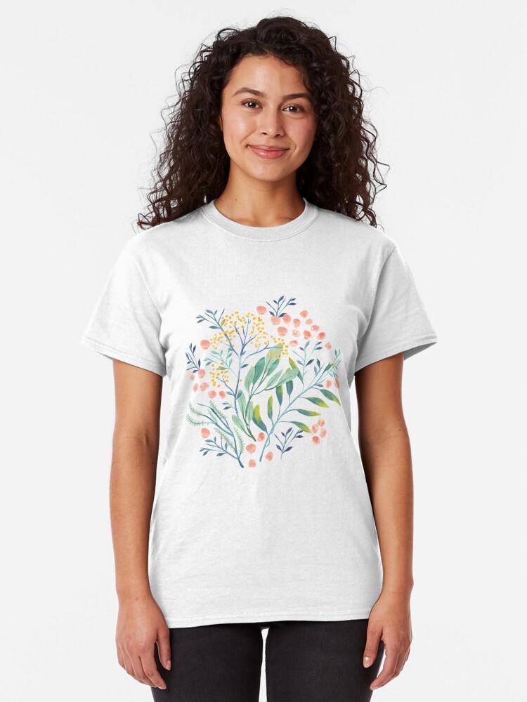 Alternate view of Botanical Garden Classic T-Shirt