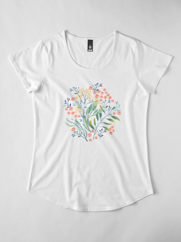 Alternative Ansicht von Botanischer Garten Premium Rundhals-Shirt