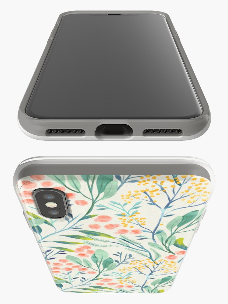 Alternate view of Botanical Garden iPhone Case & Cover