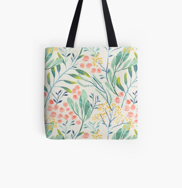 Botanical Garden All Over Print Tote Bag