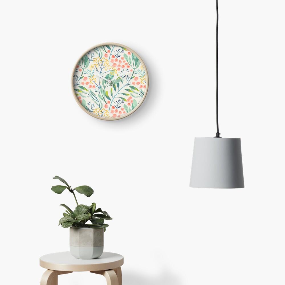Botanical Garden Clock