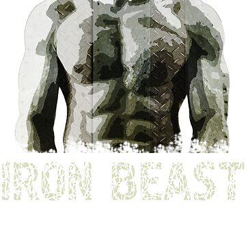 Love the gym iron beast gym beast by masliankaStepan