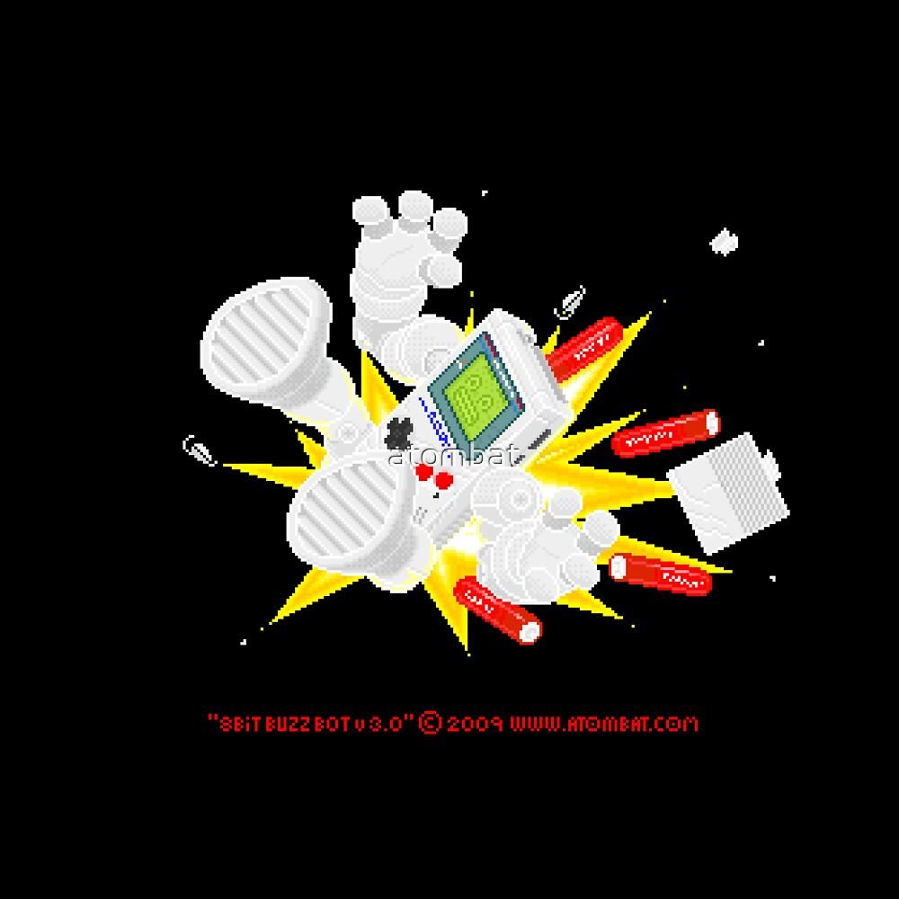 """8 Bit Buzz Bot v3.0.5 """"GameBoid""""  by atombat"""