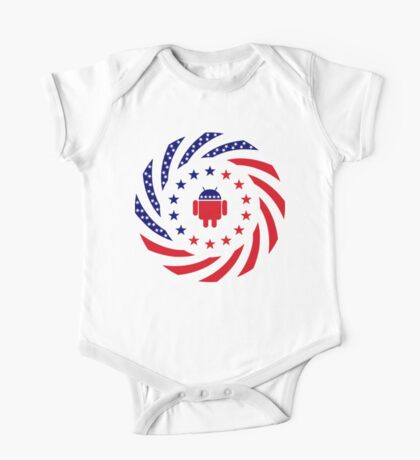 Android Murican Patriot Flag Series Kids Clothes