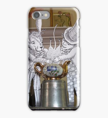 Dunking the Dormouse iPhone Case/Skin