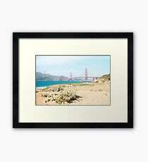 Golden Gate San Francisco Framed Print