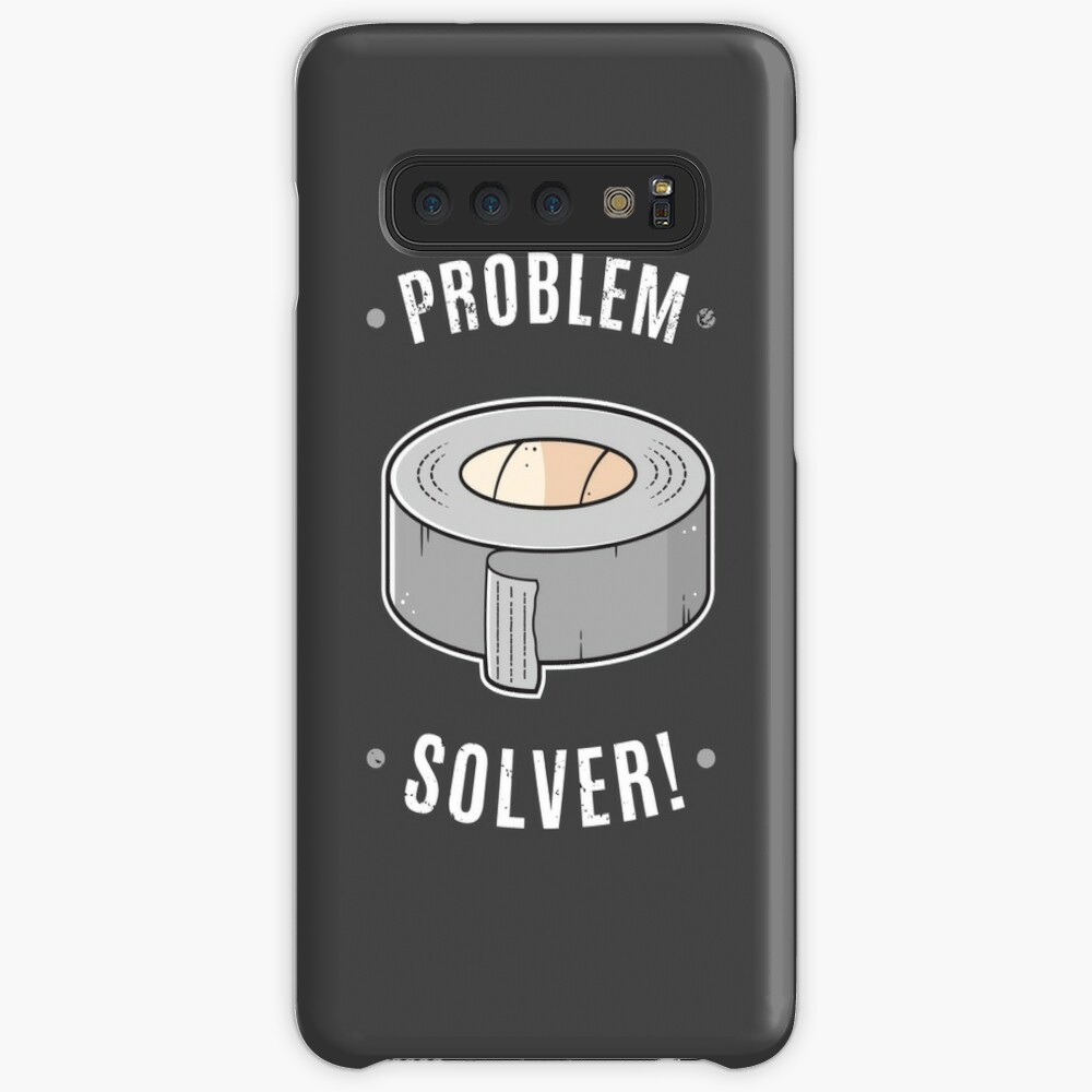 Duct Tape - Problem Solver Case & Skin for Samsung Galaxy