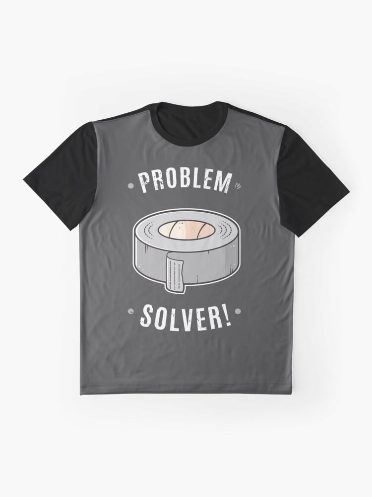 Alternative Ansicht von Klebeband - Problemlöser Grafik T-Shirt
