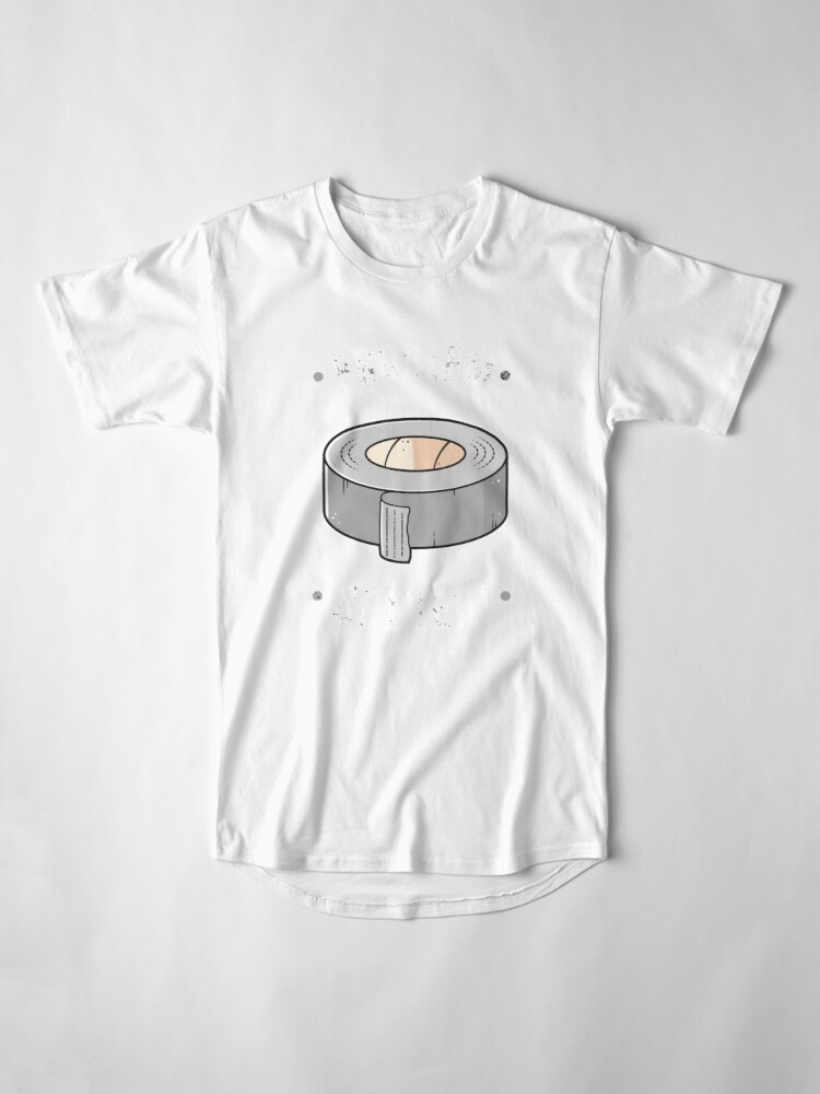 Alternate view of Duct Tape - Problem Solver Long T-Shirt