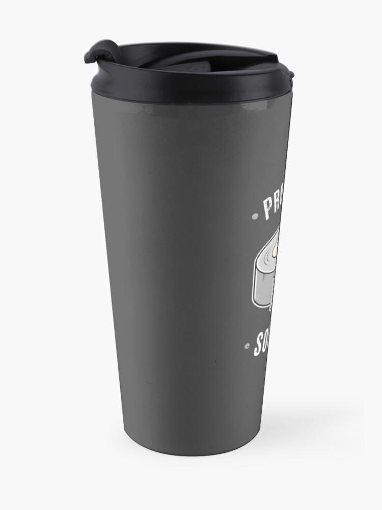 Alternate view of Duct Tape - Problem Solver Travel Mug