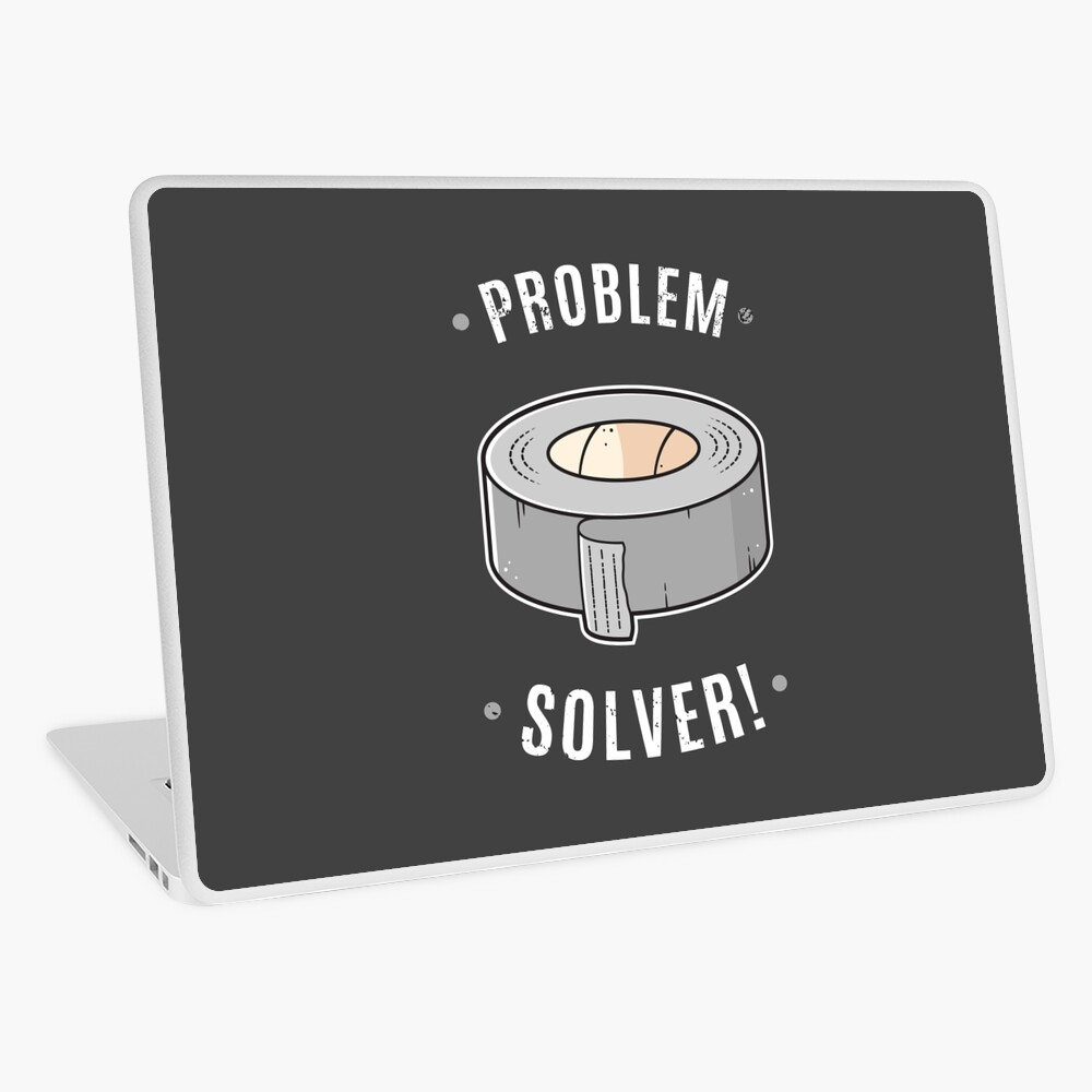 Duct Tape - Problem Solver Laptop Skin