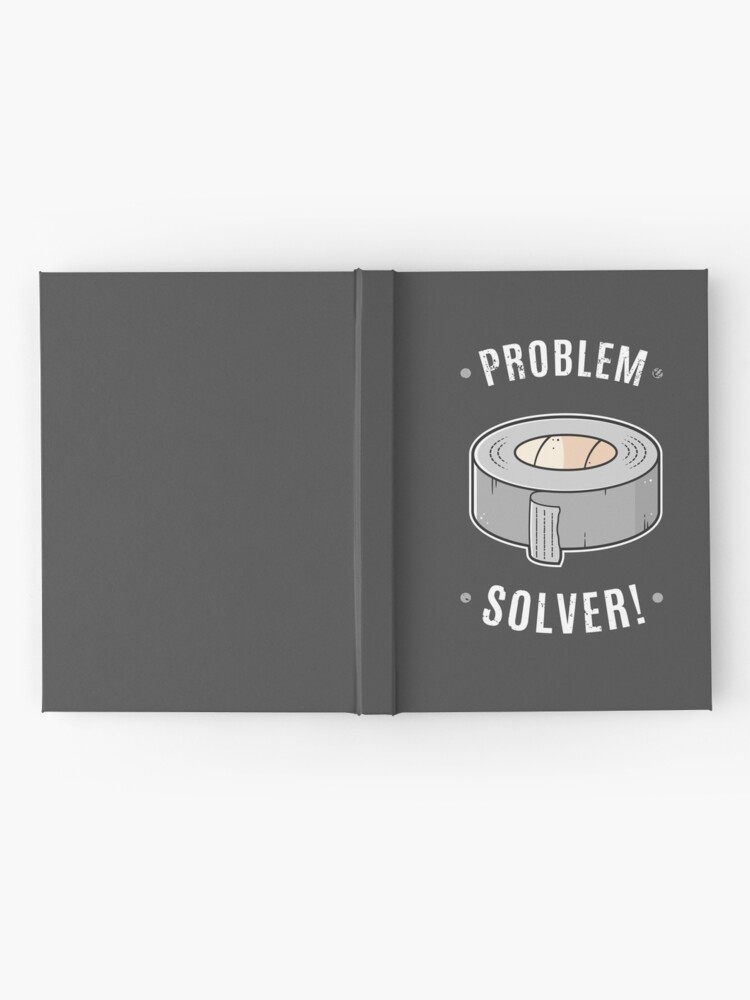 Alternate view of Duct Tape - Problem Solver Hardcover Journal