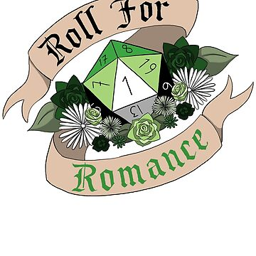 Roll For Romance - Aromantic Pride [Crit Fail] by flailingmuse