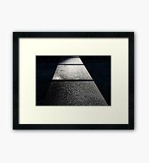 Corner #3 Framed Print