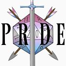 Critical hit! - Bigender Pride by Sam Spicer