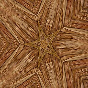 Wicker Weave Rustic Star by spaceyqt