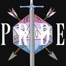 Critical hit! - Bigender Pride by Sam Spicer