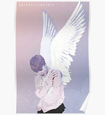 Fallen Angel -  BTS Jimin Poster