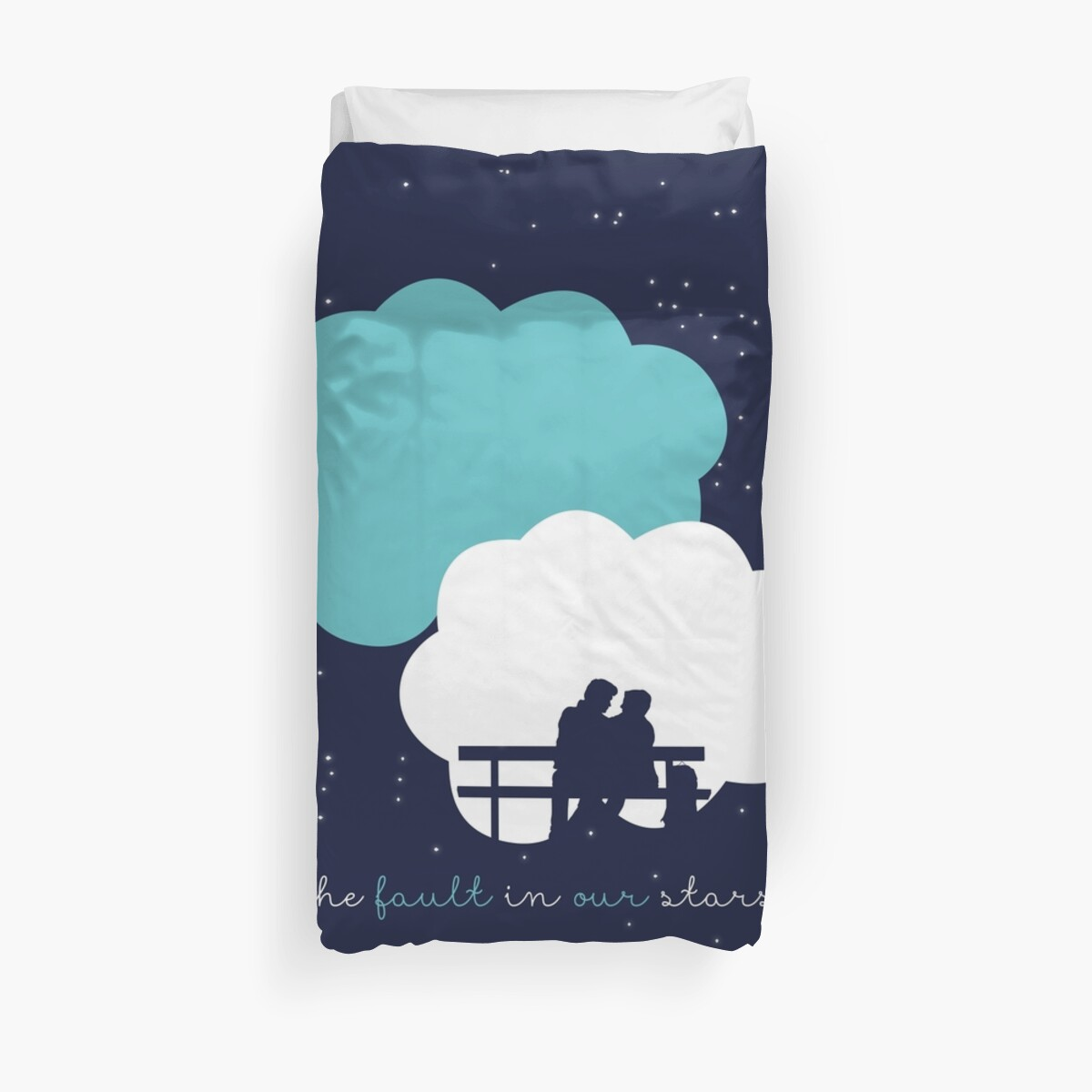 Quot The Fault In Our Stars Quot Duvet Cover By Laurenschroer