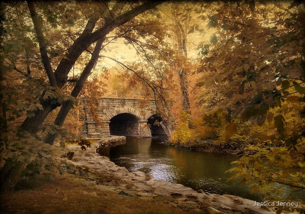 Riverbank Reflections  by Jessica Jenney