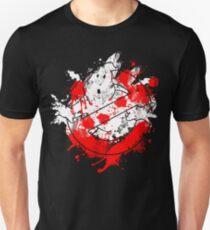 Ghostbusters Logo Paint Splatter T-Shirt