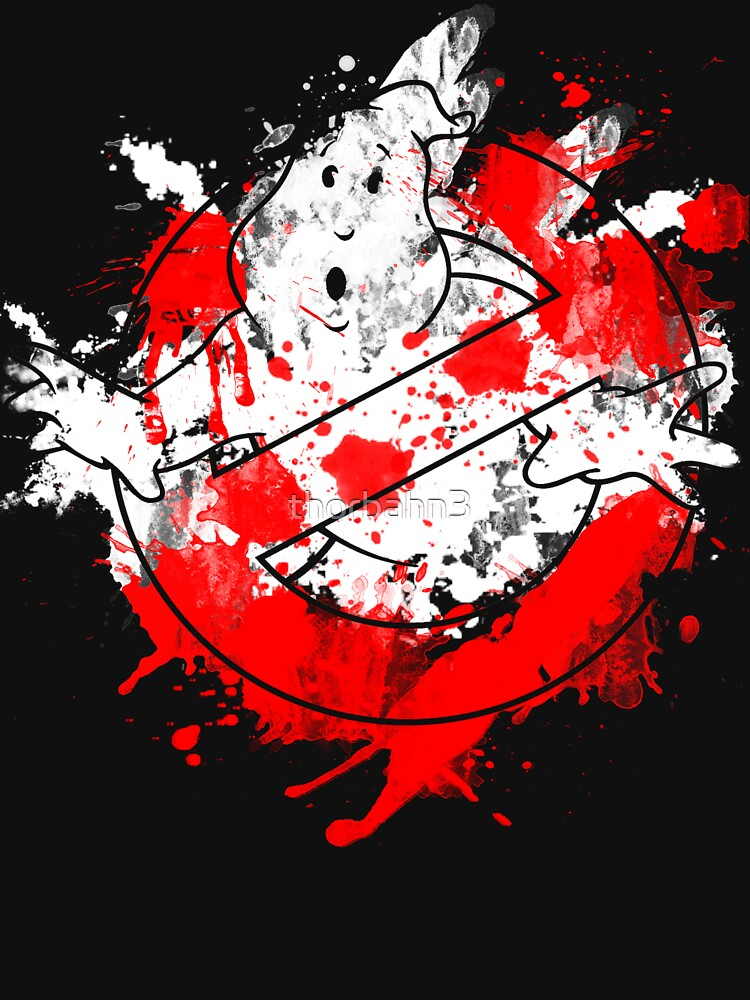 TShirtGifter presents: Ghostbusters Logo Paint Splatter | Unisex T-Shirt