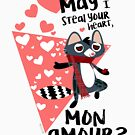 «Steal your heart Mon Amour » de belettelepink